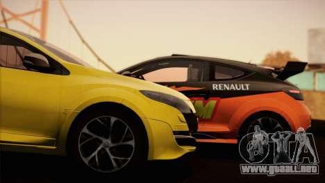 Renault Megane RS Tunable para GTA San Andreas left