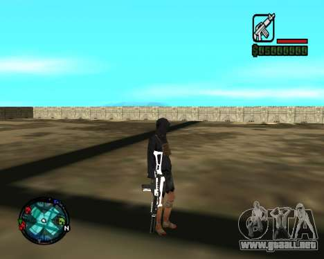 Cleo Gun for SA:MP (dgun) para GTA San Andreas quinta pantalla