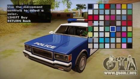 All Cars Radio & Repair Activator para GTA San Andreas tercera pantalla