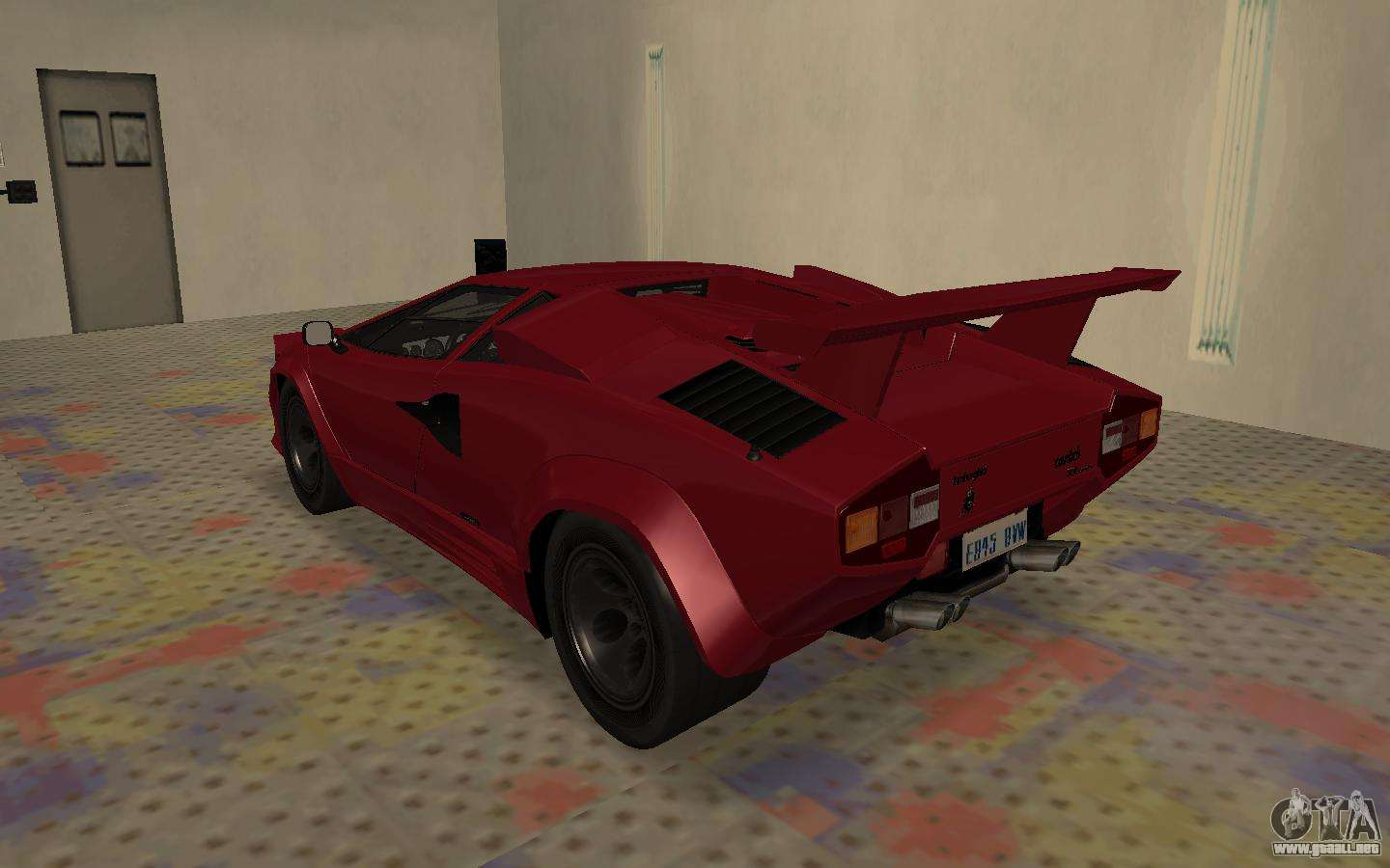 lamborghini countach lp5000 extreme para gta san andreas. Black Bedroom Furniture Sets. Home Design Ideas