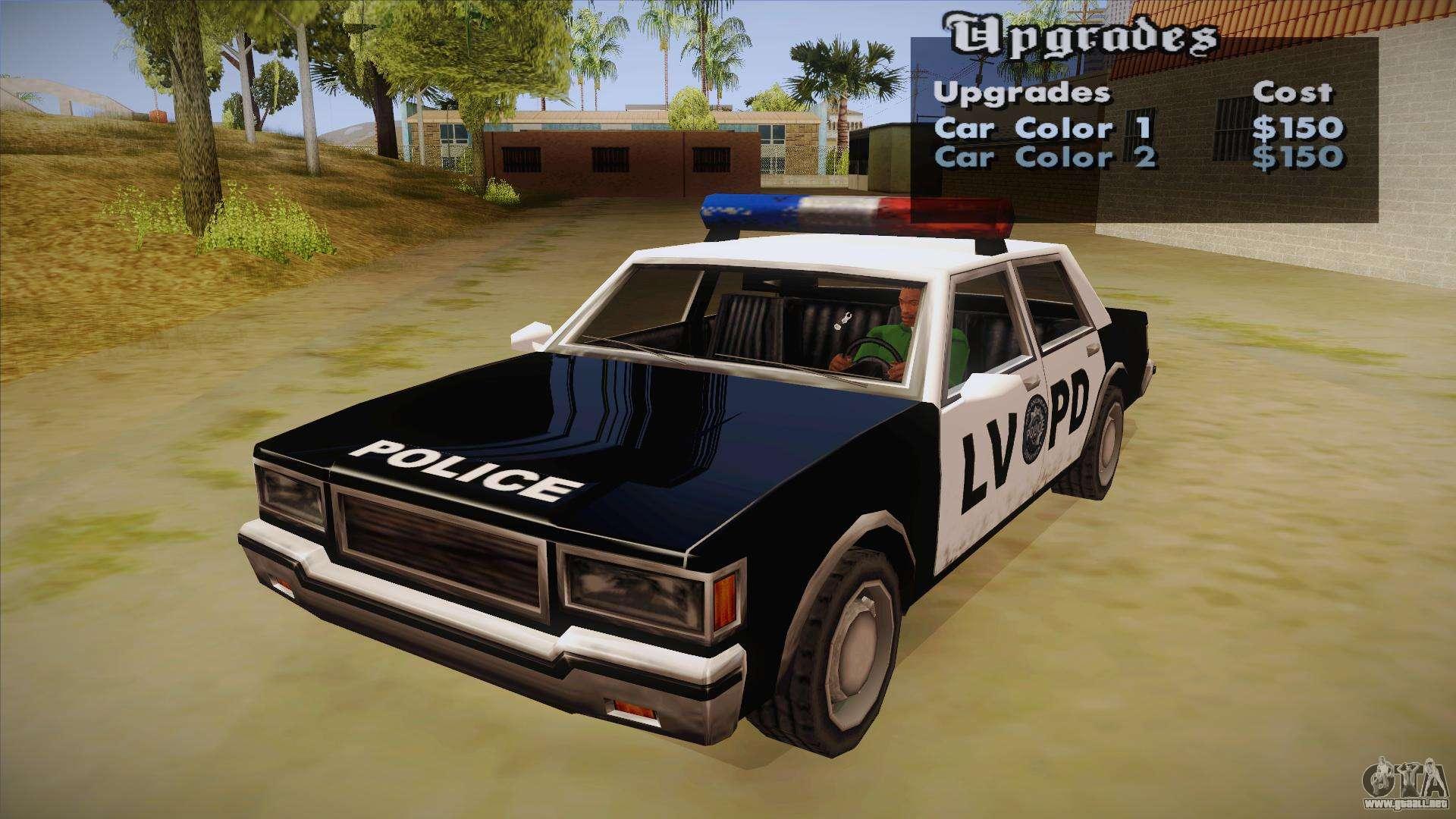 GTA San Andreas segunda  Gta San Andreas Police Cars