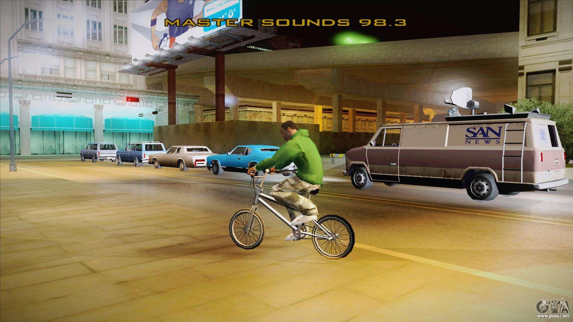 Этот патч активирует радио и перекраску всех машин в GTA San Andreas. Посл