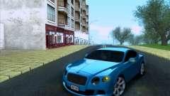 Bentley Continental GT Final 2011 para GTA San Andreas
