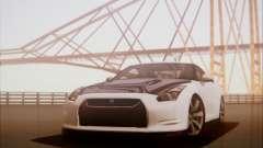 Nissan GT-R R35 Spec V 2010 para GTA San Andreas
