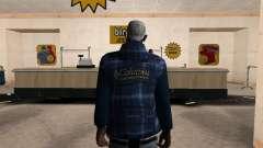 La nueva chaqueta CJ para GTA San Andreas