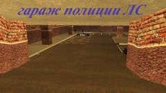 Nuevo garaje interior policía HP