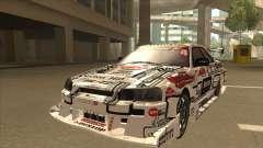 Nissan Skyline ER34 Uras GT Blitz 2009 para GTA San Andreas