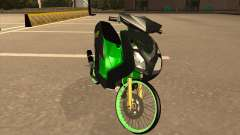Yamaha Mio Soul 2 Monster Energy para GTA San Andreas