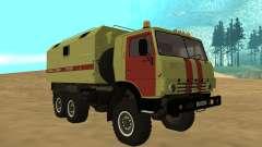 Luces de peligro KAMAZ 4310 para GTA San Andreas