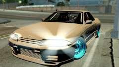 Nissan Skyline R32 Hellaflush