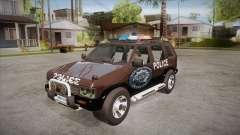 Nissan Terrano RB26DETT Police para GTA San Andreas