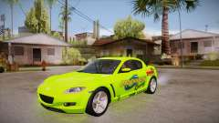 Mazda RX8 Tunnable para GTA San Andreas