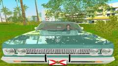 Plymouth Fury III 1969 Coupe para GTA Vice City
