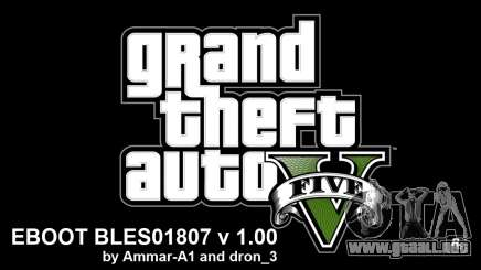 GTA 5 Hacks For 1.00 By Ammar-A1 V4 BLES para GTA 5