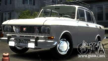 AZLK 2140 1976 para GTA 4