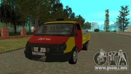 3302 Gacela grúa negocios para GTA San Andreas