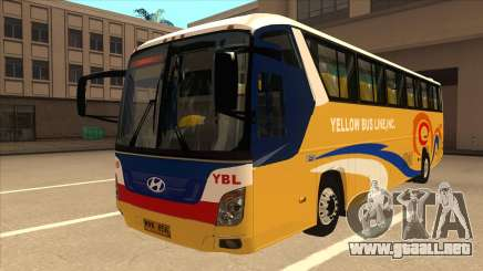 Yellow Bus Line A-29 para GTA San Andreas