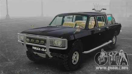 GAZ 2402-4 x 4 camioneta para GTA 4