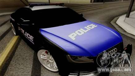 Audi RS5 2011 Police para GTA San Andreas