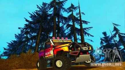 UAZ Hunter juicio para GTA San Andreas