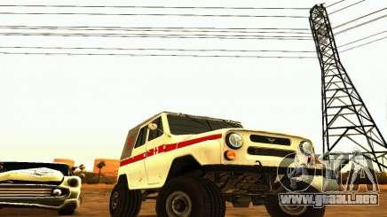 UAZ 469 ambulancia para GTA San Andreas