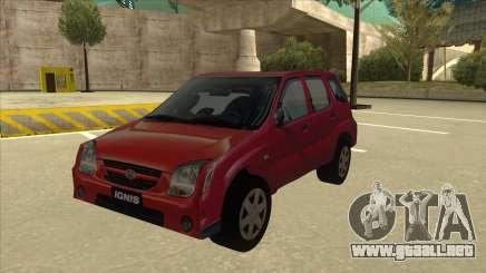 Suzuki Ignis para GTA San Andreas