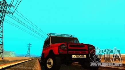 UAZ 31514 6 x 6 para GTA San Andreas