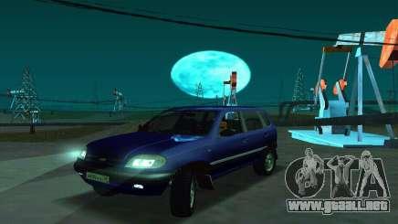21236 Chevrolet Niva VAZ para GTA San Andreas