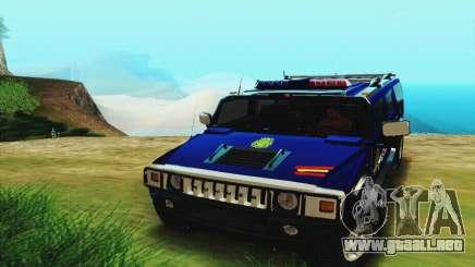 Hummer H2 G.E.O.S. para GTA San Andreas