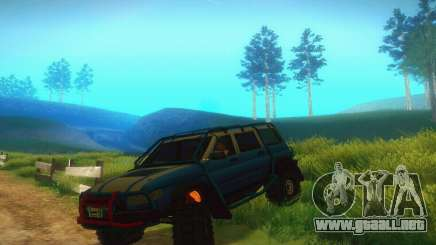 UAZ Patriot para GTA San Andreas