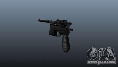 V2 pistola Mauser para GTA 4 segundos de pantalla