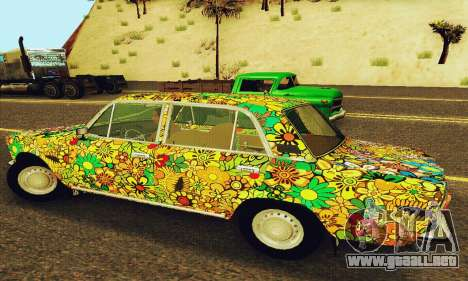 VAZ 21011 Hippie para GTA San Andreas vista hacia atrás