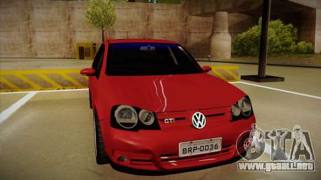 VW Golf GTI 2008 para GTA San Andreas left