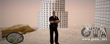 Los Angeles Police Officer para GTA San Andreas quinta pantalla