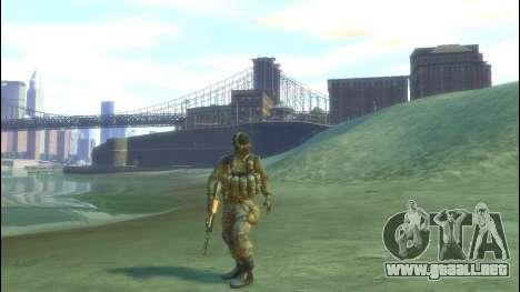 Un soldado ruso v 2.0 para GTA 4 segundos de pantalla
