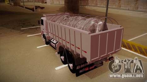 Scania 113H Frontal Caçamba BETA para la visión correcta GTA San Andreas