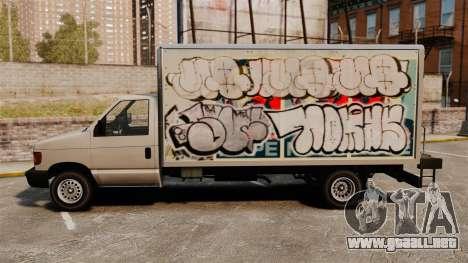 Nuevo graffiti para corcel para GTA 4 visión correcta