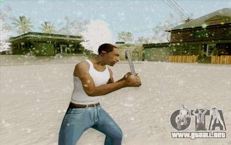 Regla de acero para GTA San Andreas segunda pantalla