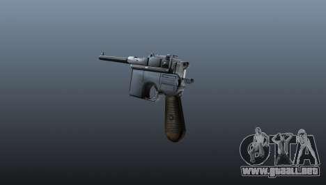 V1 pistola Mauser para GTA 4 segundos de pantalla