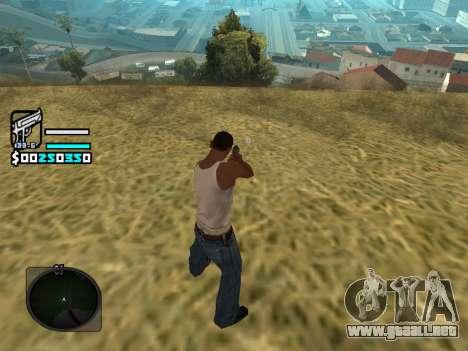 Hud by Larry para GTA San Andreas tercera pantalla