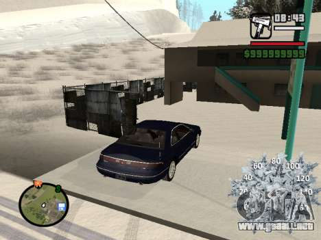 Nuevo velocímetro para GTA San Andreas