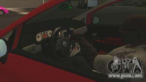 Fiat Grande Punto para las ruedas de GTA San Andreas