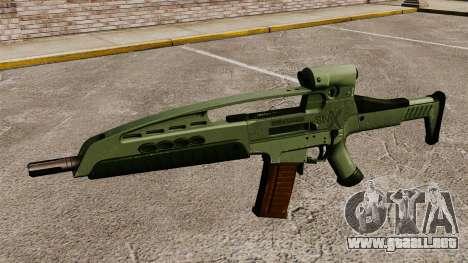 HK XM8 assault rifle v1 para GTA 4 tercera pantalla