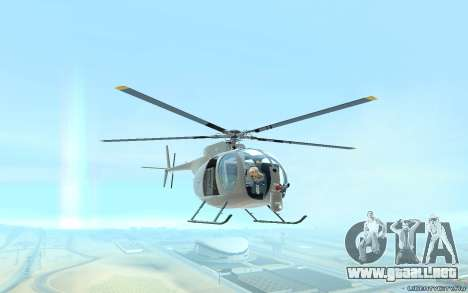 Buzzard Attack Chopper para GTA San Andreas