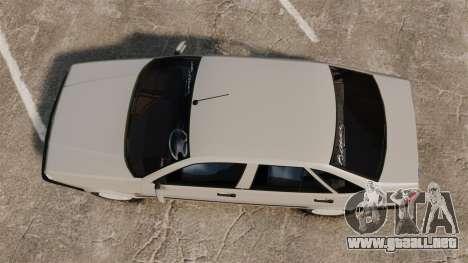 Fiat Tempra SX.A para GTA 4 visión correcta