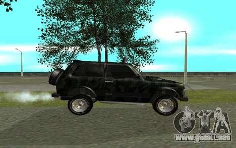 VAZ 21213 para GTA San Andreas left