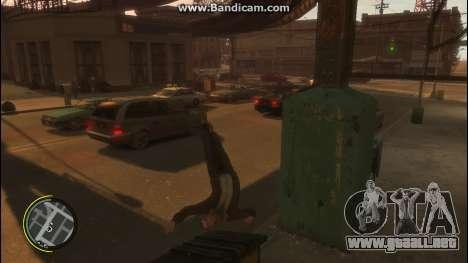 V Style para GTA 4 tercera pantalla
