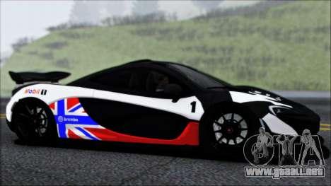 McLaren P1 2014 para el motor de GTA San Andreas