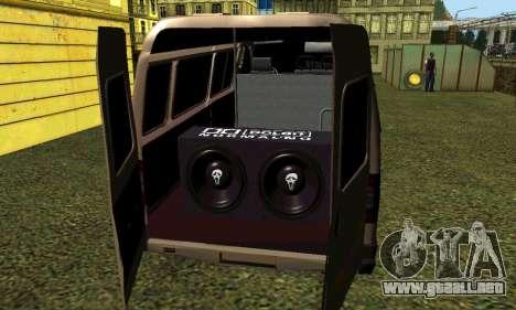 Gacela Tuning para la visión correcta GTA San Andreas
