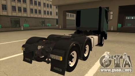 Iveco Hi-Land para la visión correcta GTA San Andreas